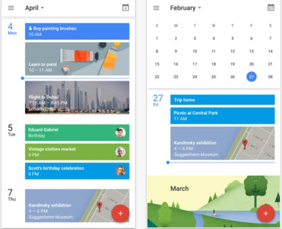 Google Calendar for iPhone