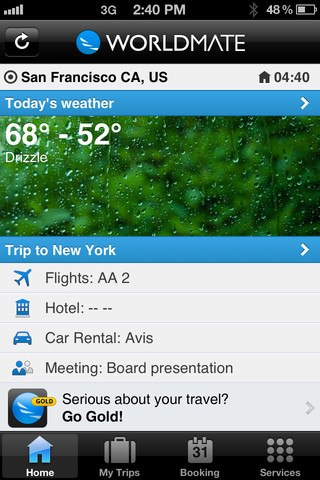 WorldMate – The Free Mobile Trip Planner App