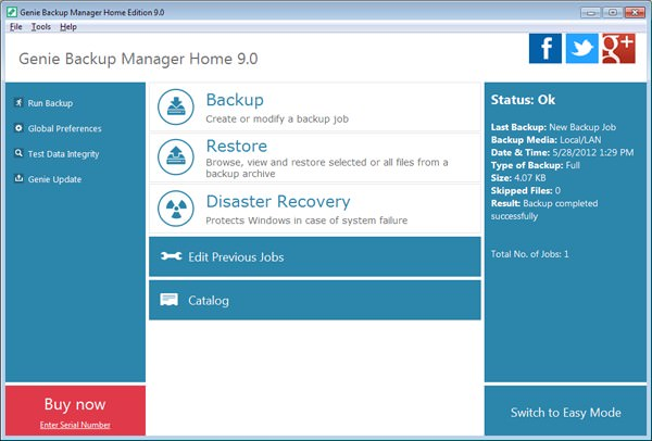 Genie Backup Manager Best Backup Software