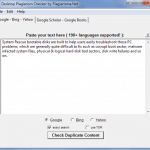 Desktop Plagiarism Checker Software