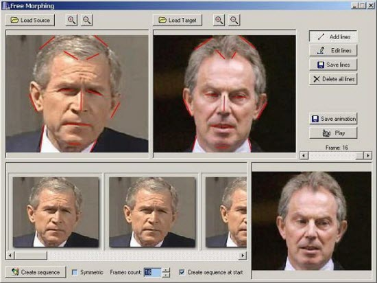 Face morphing software online