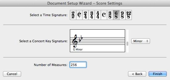 Crescendo Music Notation Software
