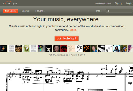Music Notation Software