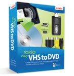 Convert VHS to DVD with Roxio Easy VHS to DVD 3 Plus