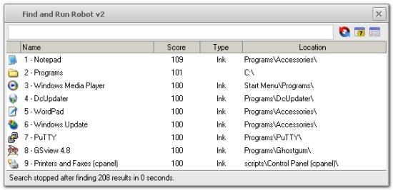 Windows Desktop Search Software