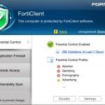 FortiClient Antivirus and Network Security Software