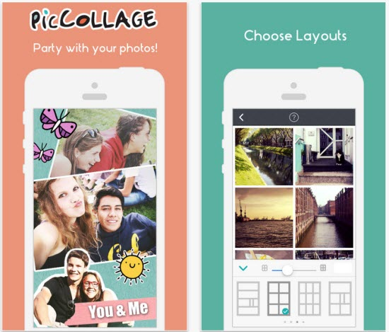 Create Collages on your Smartphone with Pic Collage App