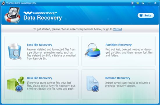 Wondershare Data Recovery Best Data Recovery Software