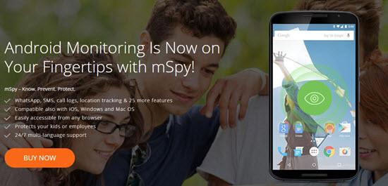 mSpy Best Spy Apps for Android