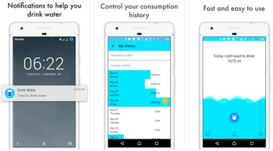 Drink Water App - Water Drinking Reminder App