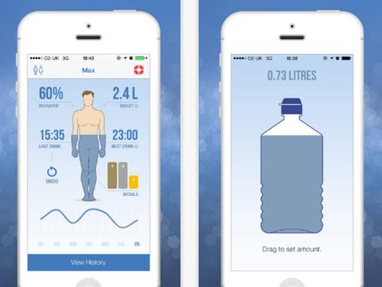 iDrated Water Drink Water Reminder App