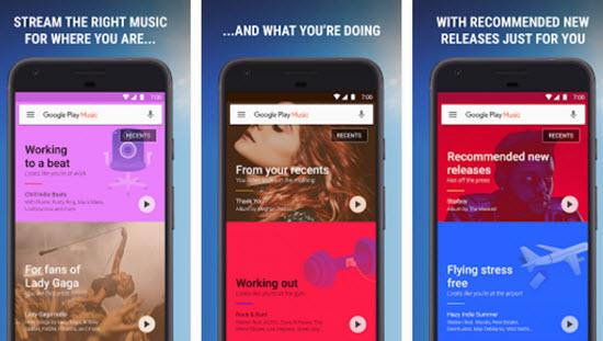 Google Play Music - Music Download Apps