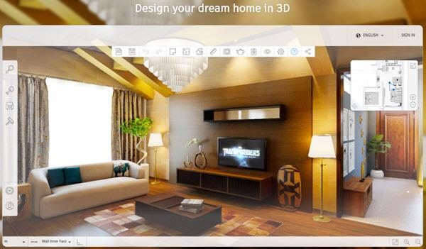 10 best free 3d home design software design your home as - Free software for 3d home design ...