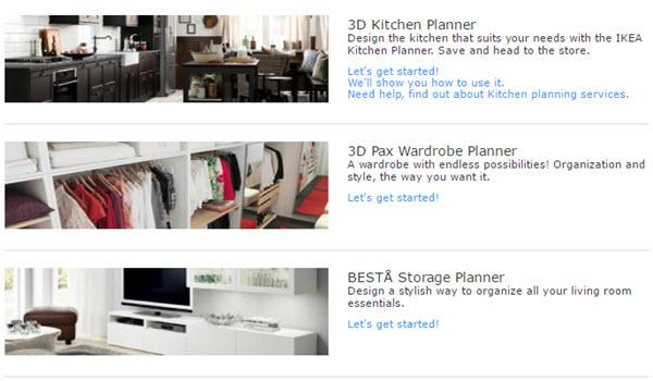 IKEA Home Planner Tools