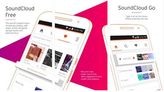 SoundCloud - Free Music Download Apps for Android