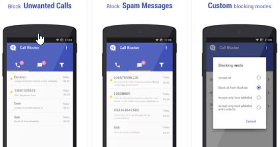 Call Blocker Free Calls and SMS Blocker Apps