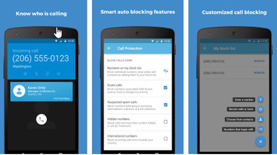 Mr. Number-Block calls & spam Calls and SMS Blocker Apps