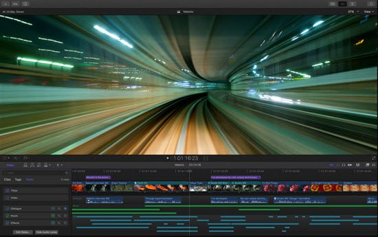 Apple Final Cut Pro Video Editing Software