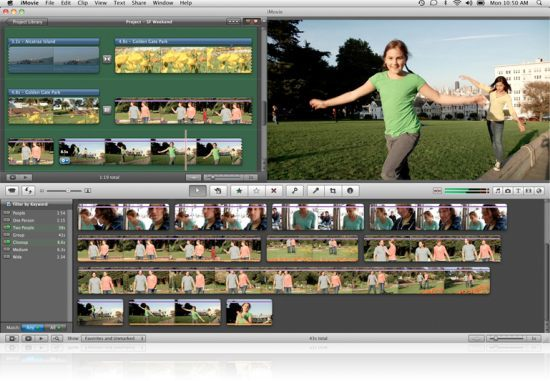 Apple iMovie Video Editing Software