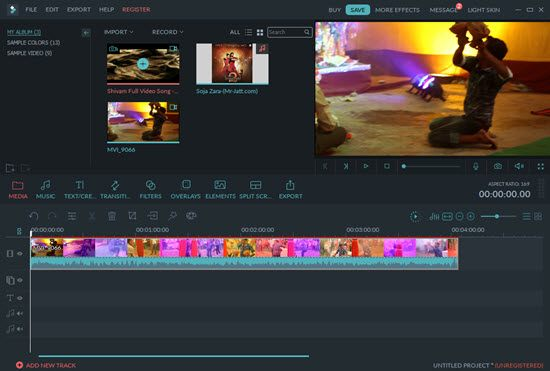 Wondershare Filmora Video Editing Software