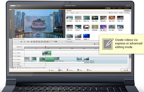Nero Video Video Editing Software