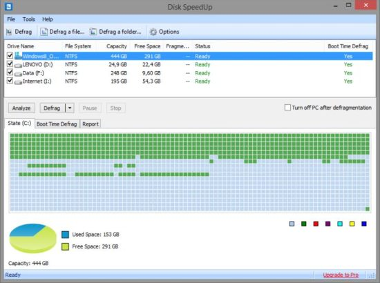 Disk Speedup Best Disk Defrag Software