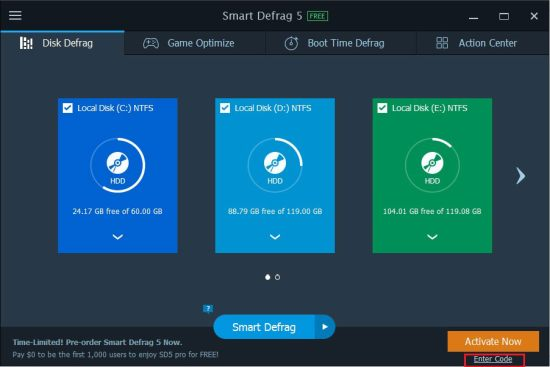 IObit Smart Defrag Best Disk Defrag Software