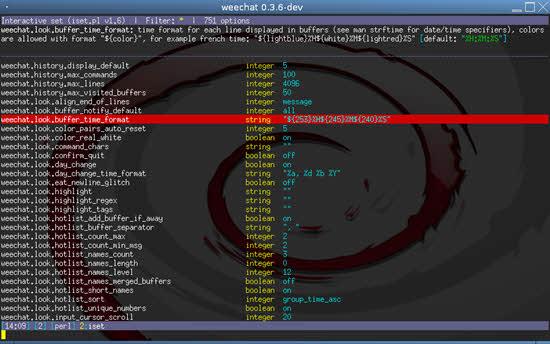 WeeChat IRC Clinet