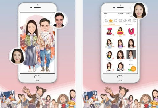 MomentCam Cartoon Picture Apps