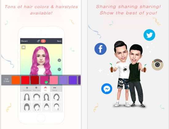 Myidol Cartoon Picture Apps