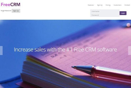 FreeCRM Free CRM Software