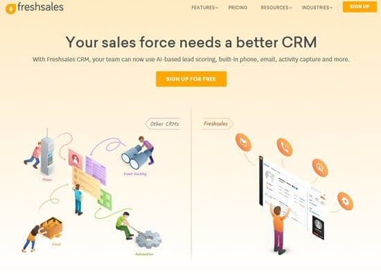 Freshsales Free CRM Software
