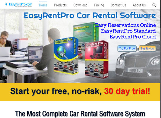 Easy Rent Pro Car Rental Software