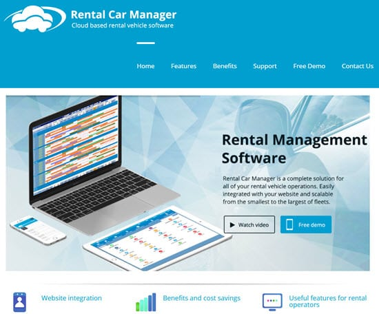 Rental Car Manager Car Rental Software