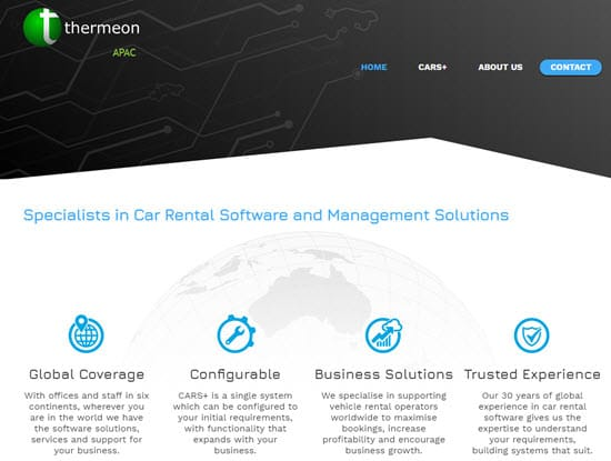 Thermeon Car Rental Software