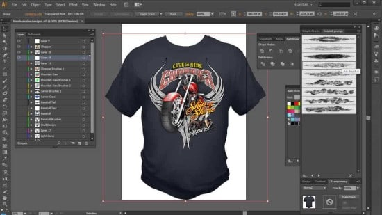 Adobe Illustrator T-Shirt Design Software