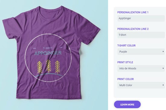 Customily T-Shirt Design Software