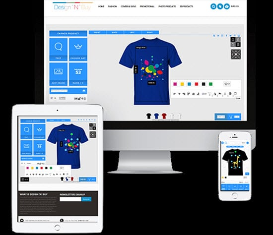 Design 'N' Buy T-Shirt Design Software