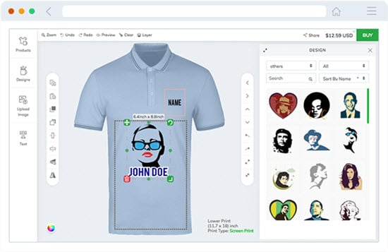 InkXE T-Shirt Design Software
