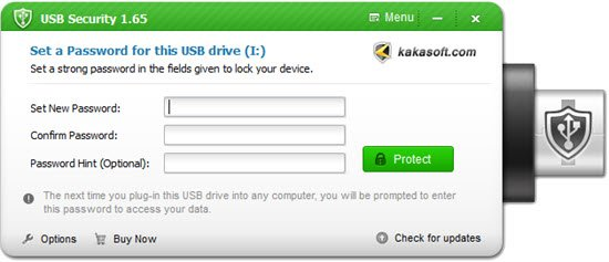 Kakasoft USB Encryption Software