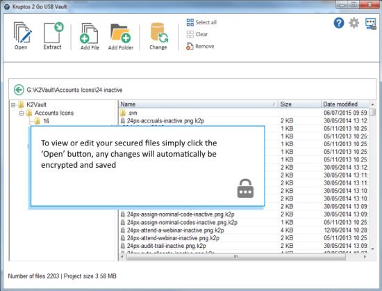Kruptos 2 Go USB Encryption Software