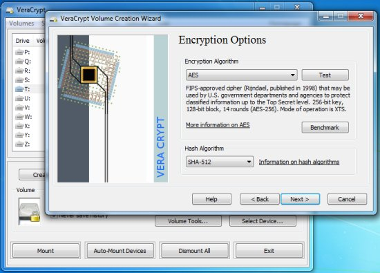 VeraCrypt USB Encryption Software